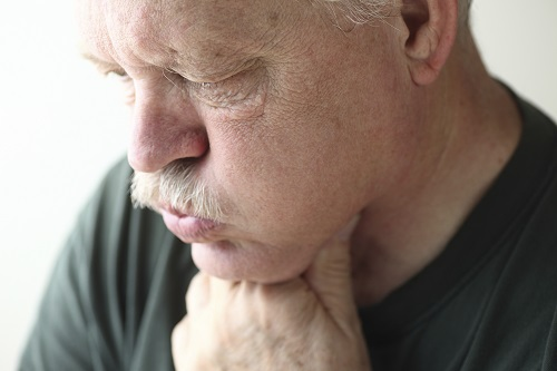 Man with an eating disorder in need of a visit to Perrinville Family Dentistry in Edmonds, WA